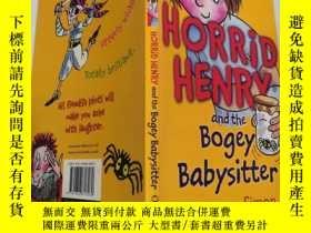 二手書博民逛書店horrid罕見Henry and the bogey babysitter 可怕的亨利和那個可怕的保姆Y2