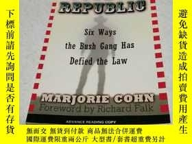 二手書博民逛書店COWBOY罕見REPUBLICY6856 MARJORIE C