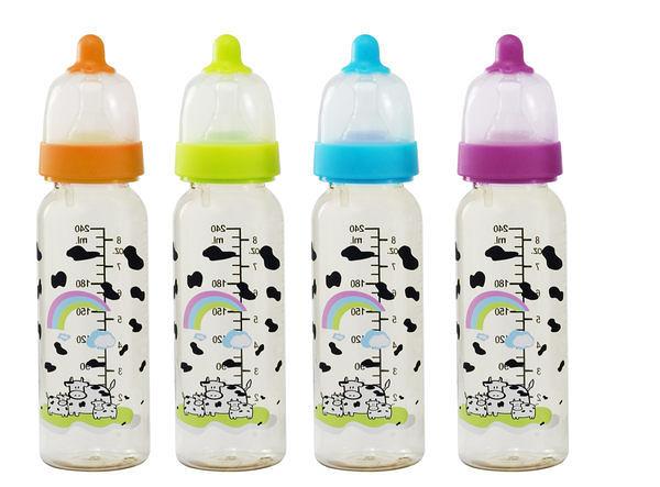 Basilic 貝喜力克D099防脹氣PES直圓型奶瓶-240ml/S