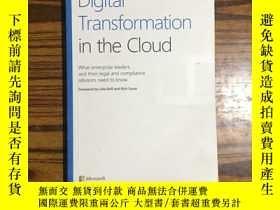 二手書博民逛書店Digital罕見Transformation in the CloudY177057 Microsoft M