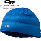 【Outdoor Research 美國 Transcendent Down Beanie 輕量透氣保暖羽毛帽 藍】243485CA/羽毛帽/與容貌