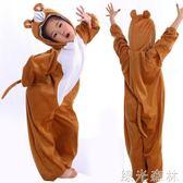 兒童錶演服裝 演出服裝 卡通 動物套裝 動物衣服 小熊服裝綠光森林