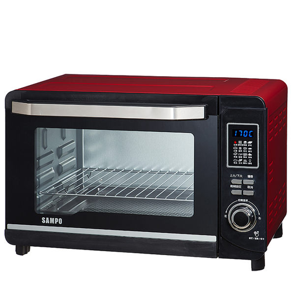 SAMPO 聲寶 30L 微電腦雙溫控烤箱 KZ-PC30F