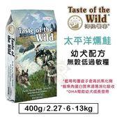 *WANG*海陸饗宴《太平洋燻鮭-幼犬配方》無穀低過敏狗糧-2.27kg