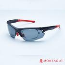 夢特嬌太陽眼鏡 專業運動款-黑框紅邊