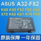 華碩 ASUS A32-F82 . 電池 K50IJ K50IN K50IP K51 K51A K51AB K51AC K40AD K40AE K40AF K40C K40E K40ID K40IE  K70AE K70AF K70IO