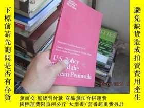 二手書博民逛書店U.S罕見policy toward the korean pe
