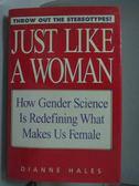 【書寶二手書T4/原文書_WGO】Just like a woman-how gender science is red