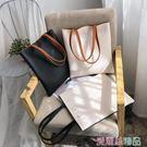 托特包時尚女包2019新款韓版軟皮托特包...