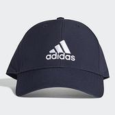 ADIDAS BBALLCAP LT EMB 帽子 老帽 休閒 基本款 藍【運動世界】GE0759
