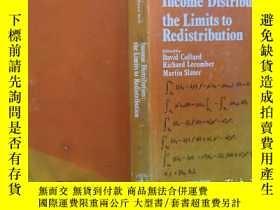 二手書博民逛書店Income罕見Distribution: the Limits