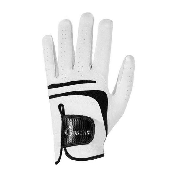 高爾夫手套 柔軟 耐磨 舒適 男士PU手套 單只 透氣防滑手套 快速出貨