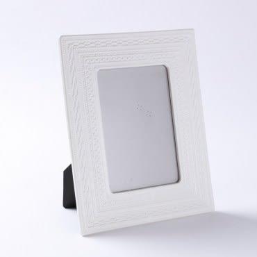 齊理安陶瓷相框 白 5X7