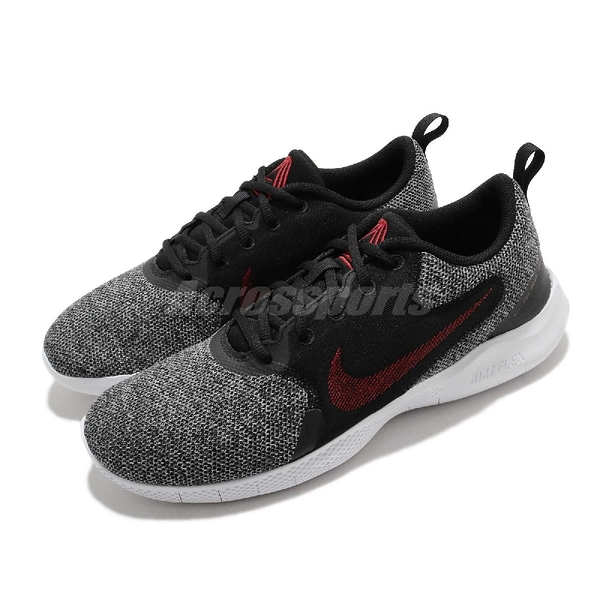 Nike 慢跑鞋 Flex Experience RN 10 黑 紅 男鞋 運動鞋 【ACS】 CI9960-005