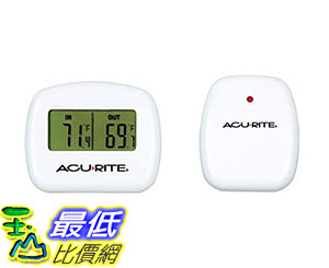 [美國直購] 溫度計 AcuRite 00782A2 Wireless Indoor/Outdoor Thermometer 00782A2