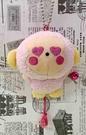 【震撼精品百貨】OSARUNOMONKICHI_淘氣猴~造型絨毛吊飾-粉#96517