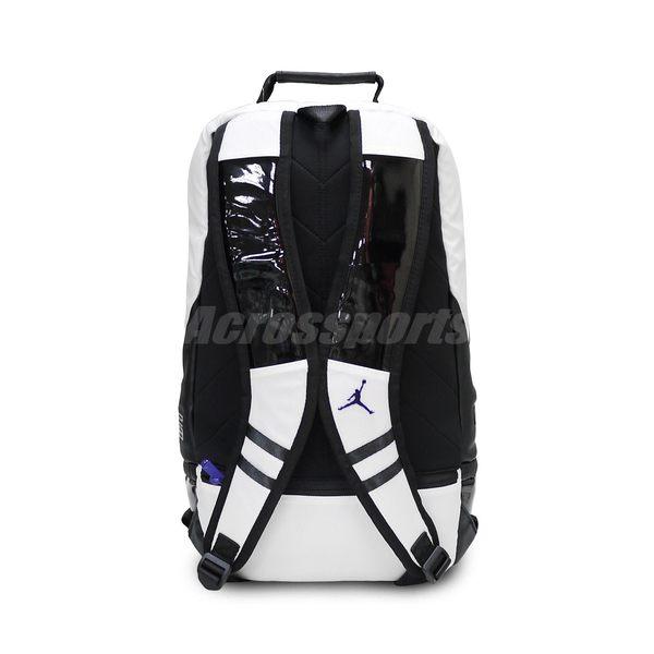 ... Nike 後背包Air Jordan Retro 11 XI Concord Bred Backpack 白黑紅大容量 ... bd97cb10fe
