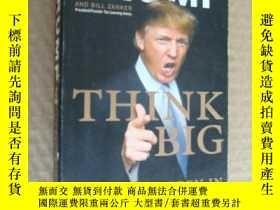 二手書博民逛書店Think罕見big 特朗普著Y146810 Trump and