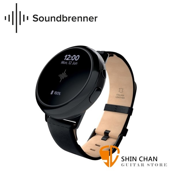 【缺貨】SoundBrenner SBEM Core Steel 振動節拍器/節奏智慧手錶【原廠公司貨保固/SBEM-Core Steel】