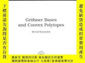 二手書博民逛書店Grobner罕見Bases And Convex Polytopes (university Lecture S