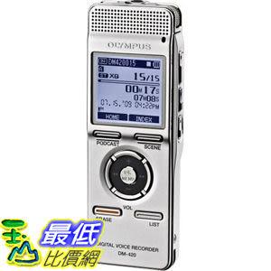 [停產 請改買新款DM-620] Olympus DM-420 2GB Digital   Recorder with MP3 Player 錄音筆/MP3 雙用 $4413