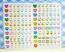 【震撼精品百貨】Hello Kitty 凱蒂貓~KITTY貼紙-心情貼紙-彩色(黃漢堡)