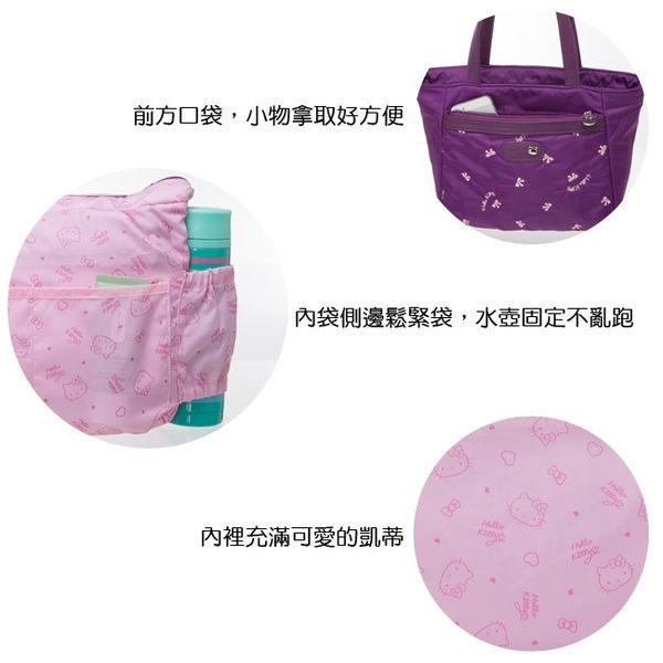 Hello Kitty -  圓舞曲-小托特包 (紫色)