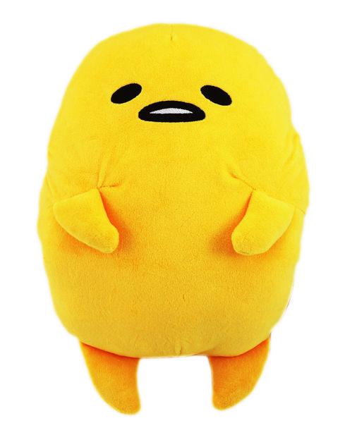 【卡漫城】 蛋黃哥 造型 暖手枕 40cm 無殼 ㊣版 Gudetama 午休枕 暖手枕 娃娃 玩偶 午安枕 靠墊 抱枕