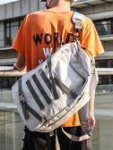 潮牌原創休閒雙肩包男大容量帆布高中學生書包女韓版男士旅行背包