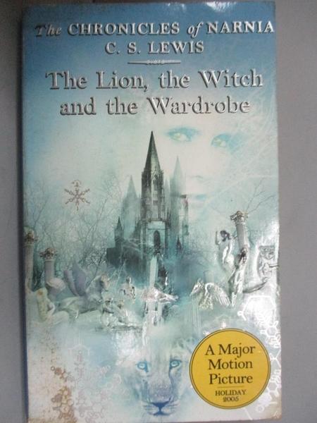 【書寶二手書T8/原文小說_KNV】The Lion, the Witch and the Wardrobe_C. S. Lewis