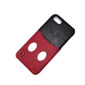 【日本正版迪士尼】iPhone 7/6/6s 硬殼 4.7吋 皮革口袋系列 手機殼-米奇441