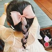 公主風大蝴蝶結造型髮夾 髮夾 髮飾 兒童髮飾