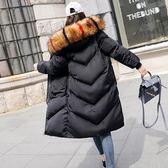 棉襖女新款韓版中長款棉服女bf加厚冬季棉衣時尚寬鬆外套 陽光好物