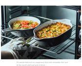 蛋糕模具烤箱碗芝士焗飯碗微波爐專用烤盤陶瓷烤碗家用烘焙焗飯盤西餐盤子 米蘭潮鞋館YYJ