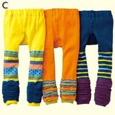 (零碼出清) 假2件造型9分內搭褲襪 (3件一組)  橘魔法Baby magic 現貨 女童 內搭褲 褲襪