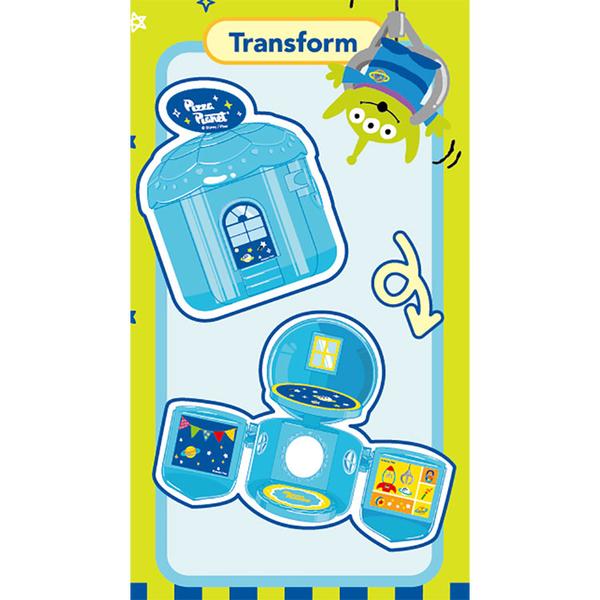 LEing 迪士尼 玩具總動員 三眼怪玩具房間組