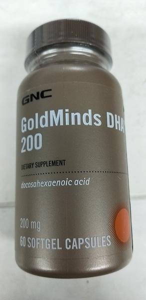 GNC 藻油DHA膠曩食品 60顆/瓶*6瓶