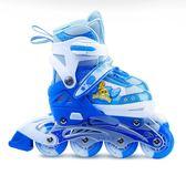 旱冰鞋溜冰鞋兒童全套裝男女直排輪旱冰輪滑鞋可調3-4-5-6-8-10歲
