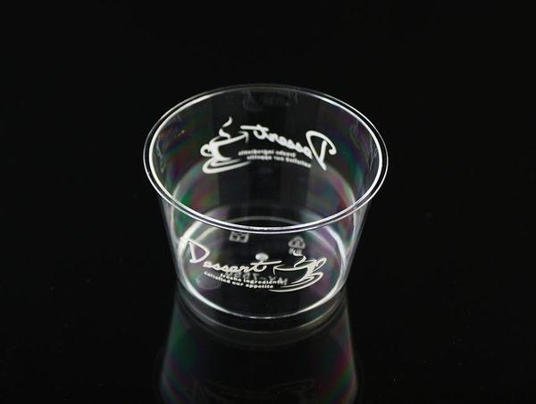 10入 140cc 櫻花杯 布丁奶酪杯 甜點杯 免洗  附蓋  G7550