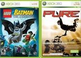 XBOX360 極限越野機車賽 + LEGO蝙蝠俠 合輯 亞洲英文版