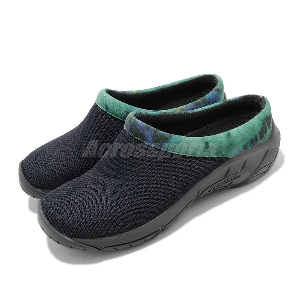Merrell 休閒鞋 Encore Breeze 4 深藍 綠 套入 女鞋 拖鞋 都會休閒【ACS】 ML002524