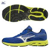 胖媛的店 美津濃MIZUNO 男慢跑鞋 輕量支撐型慢跑 WAVE CATALYST 2 J1GC173307