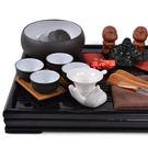 紫砂茶具實木茶盤套裝