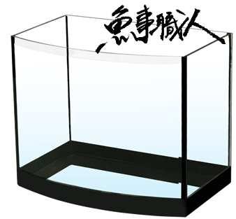 【熱銷款】【高品質海灣缸 1尺】【30*19*24.5cm】開放缸 入門款魚缸 圓弧 美觀精緻 魚事職人