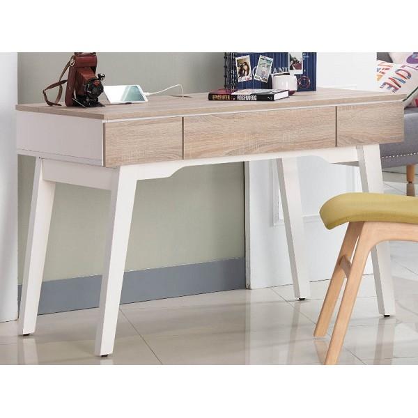 書桌 電腦桌 AM-231-1 小北歐4尺書桌 (不含其它產品)  【大眾家居舘】