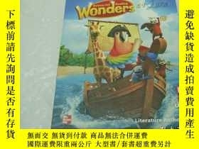 二手書博民逛書店wonders罕見literature anthology G1