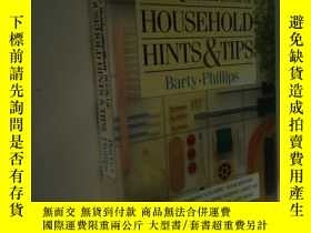 二手書博民逛書店英文原版罕見Daily Mail Household Hints & TipsY7215 BARTY PHIL