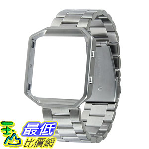 [106美國直購] 錶帶 VIGOSS For Fitbit Blaze Band, VIGOSS Lux Series Smart Watch Band