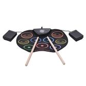 彩色手卷架子鼓 初學打擊樂器 USB手卷電子鼓