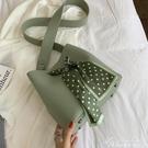 子母包包女包新款小清新韓版百搭側背斜背時尚休閒水桶包 黛尼時尚精品